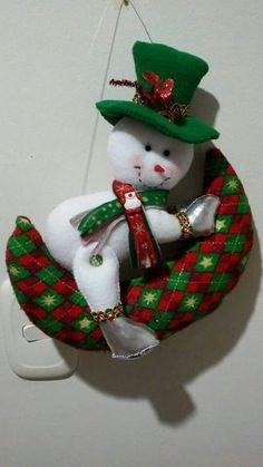 Muñeco de nieve en la luna