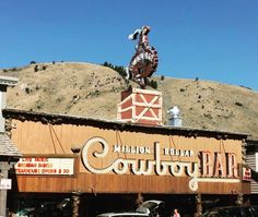 #milliondollarcowboybar #jackson #wyoming #bar #cowboys #wy #horse #travel