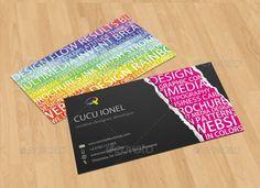 Creative Keywords Business Card
