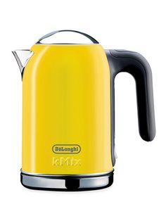 Yellow Tea Kettle kMix Electric Kettle by DeLonghi on Gilt Home