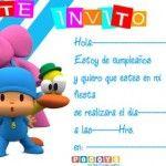 INVITACIONES DE CUMPLEAÑOS LISTAS PARA IMPRIMIR!!!