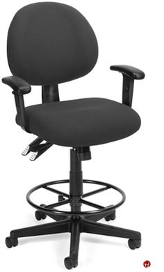 Picture of 24 Hour Use Office Multi Function Drafting Stool Chair $298