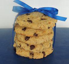 Kokosovo - čokoládové cookies