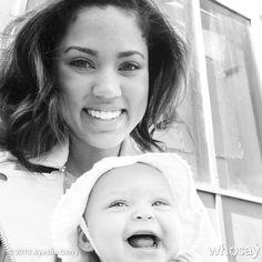 Like what you see⁉ Follow me on Pinterest ✨: @joyceejoseph ~   Ayesha & Riley Curry