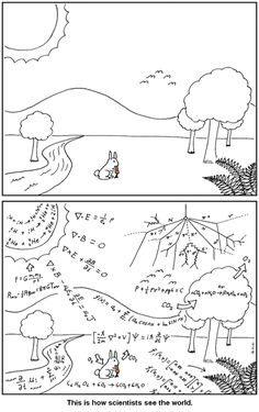 How scientists see the world!