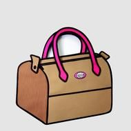 Jump From Paper- Travel Bag  Love this company - hope we may be able to stock them one day! x x