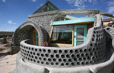 Earthships are 100% sustainable homes that are both cheap to build and awesome to live in. They offer amenities like no other sustainable building style you have come across. Read more at http://expandedconsciousness.com/2014/04/02/10-reasons-why-earthships-are-fing-awesome/#Rk8eX3rb0b6HMHFl.99