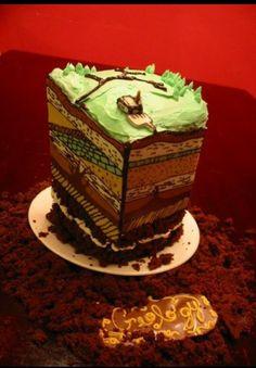 Cake geology