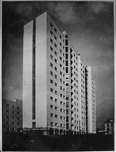 Luigi Moretti - Casa albergo Via Filippo Corridoni, Mailand 1951