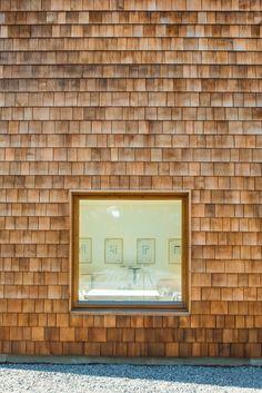 Arkitekturfotograf strandparken cedertra51 Arkitekturfotografering av höghus i cederträ