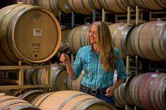 Barrel room... J vineyards