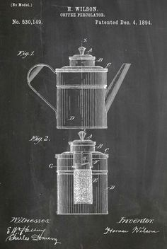 coffee perculator patent
