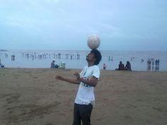 Malhar Takle a Footballer of Shivajian Football Club , Khed ,Ratnagiri.