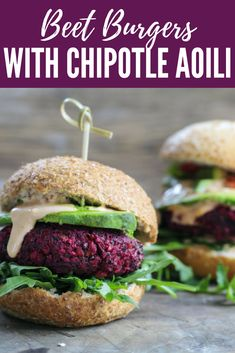 """Beet burgers have become one of my favorite healthy obsessions. I consider myself to be a somewhat of an """"expert"""" since I have tried and tasted so many. I mixed and matched several recipes and came up with this version that has a Mexican twist to it! Filled with fresh tasty ingredients, this healthy burger has great texture and flavor. #beetburger #vegetarian #veggieburger #veganlife"""