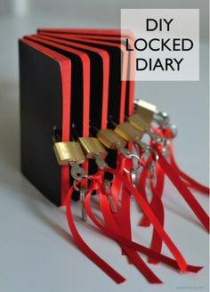 DIY Locked Diary