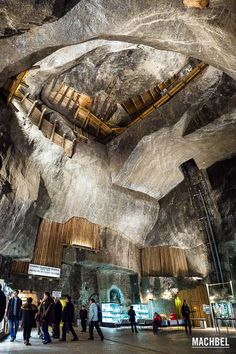 Minas de sal de Wieliczka, Cracovia, Polonia - by machbel