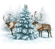 Чудесные зимние иллюстрации художницы Elizabeth Goodrick-Dillon