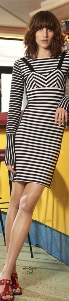 ➶ The Simplicity of Stripes ♠️ Sonia by Sonia Rykiel Resort 2016