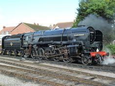 British Railways 9F locomotive 'Black Prince'