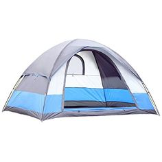 Introducing SEMOO Water Resistant 5 Person 3Season Lightweight Family Dome Tent for Camping with Carry Bag. Great product and follow us for more updates!