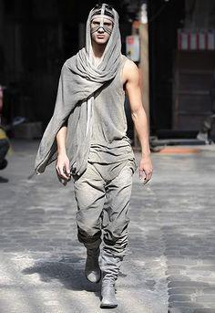 Boris Bidjan Saberi. Post-apocalypse fashion /post-apocalyptic clothing / dystopian / male fashion/ looks / menswear / men's