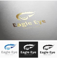 Check out Eagle Eye Logo by Super Pig Shop on Creative Market