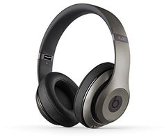 Beats Studio Wireless OverEar Headphone Titanium * Learn more by visiting the image link.
