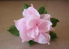 Fotopostup na kvety z krepového papiera | Artmama.sk
