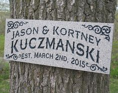 This very unique family name sign is a warm, inviting, gift and will give a personal touch to any home. This sign makes the perfect gift for a wedding shower, a wedding, housewarming, or for any special occasion where you need something memorable! These signs can be personalized