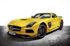 The Mercedes Benz SLS AMG Black Series. The Pheonix Has Risen Again