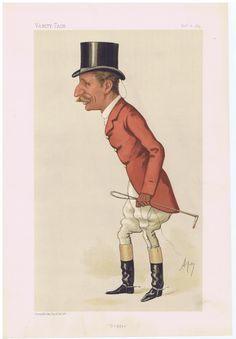 Date:  06-Dec-1884   The Vanity Fair Caricature of    Captain Arthur  Smith  With the caption of  :  Doggie  By the artist:  APE    Visit www.theakston-thomas.co.uk for many more Vanity Fair Prints, we have one of the largest collections in the world.