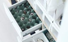 Réutiliser une boite d'oeufs  - organisation - bijoux - dressing