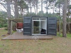Minha Casa Container Casa container na praia, no Uruguai - Minha Casa Container