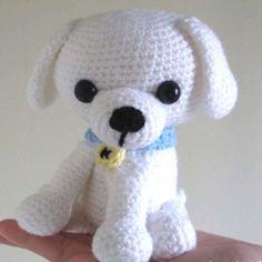 http://wixxl.com/kino-little-white-puppy/ Kino the Puppy Amigurumi