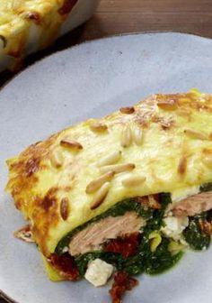 Jammi! Lachs-Spinat-Lasagne mit Feta! Hier gibt's das Rezept: http://kochen.gofeminin.de/rezepte/rezept_lachs-spinat-lasagne-mit-feta_314558.aspx  #lasagne #pasta