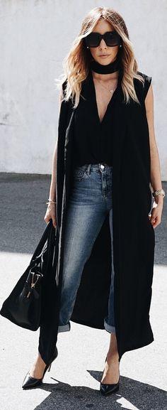 Walk The Talk Sophisticated Vest // Fashion Look by Haute Instinct