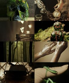 pukwudgie and slytherin, love this combination, so me..