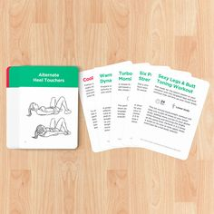 These waterproof Exercise Cards are a great way to mix up your workouts at home, at the gym or on the go. A must-have fitness accessory: http://wlshop.co
