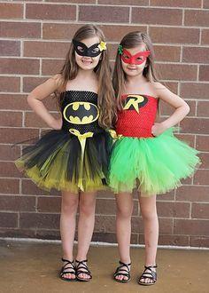 Batman & Robin Tutu Costumes by OhMyTutuCuteByDeanna on Etsy