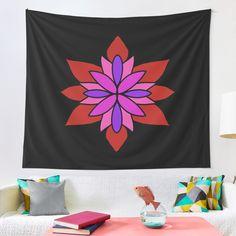 """Lotus Star Design"" Tapestry by Pultzar   Redbubble"
