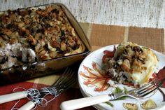 leftover thanksgiving food casserole