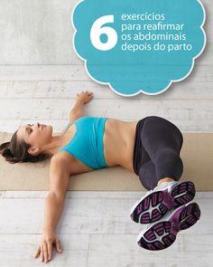 exercício  abdominais depois do parto