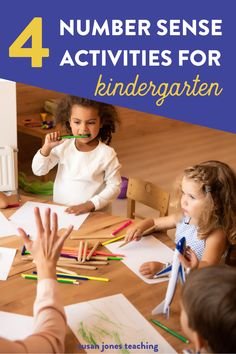 These number sense games for kindergarten are great for back to school time! You can use these 4 number sense activities during math workshop, guided math, or math centers. These number sense activities are great for students to practice number identification and counting. You will find hands-on math games and print and play math activities that are easy to prep. Find dice math games for kindergarteners to practice fluency with addition, subtraction, number sense, place value, and more!