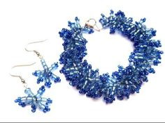 How to Make an Anemone Bracelet and Earring Set ~ Seed Bead Tutorials