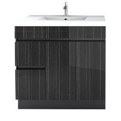 Meuble lavabo moderne «Zenon», chez Réno-Dépôt | Décors ...