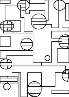 Geometric Squares http://www.familyfuncartoons.com/images