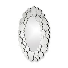 I have to make this mirror for way less- Howard Elliott® Stratus Mirror - Bed Bath & Beyond