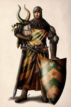 Templar standard bearer by dashinvaine on DeviantArt