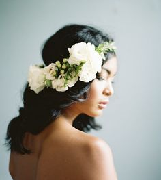 Cottage Hair Salon | Wedding Hair with flowers