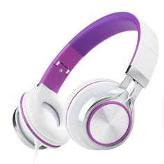 Product Description - Driver Diameter: 40mm - Mic: No - Color: white&red, black&red, white&green, white&blue, black&blue, white&purple - Accessories: 1x headphone (with package) Product Details: Item
